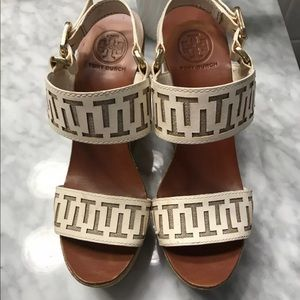 Tori Burch White Wedges